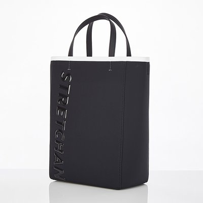 스트레치엔젤스[N.E.O] Basic basket tote bag (Black)