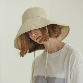 [써틴먼스] LACED BIG BUCKET HAT (BEIGE) (5439841)