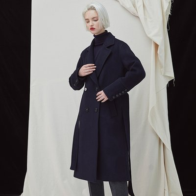 [35%할인적용가]Pivot Coat - Navy