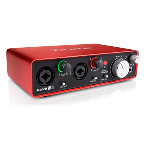 [모바일 전용] Focusrite Scarlett 2i2 Second Generation 스칼렛 2i2 2세대