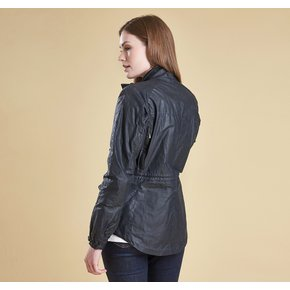 [BARBOUR X BROMPTON] 바버X브롬톤 여성 브롬리 자켓 네이비 (Barbour Bromley Jacket NAVY) BAG2LWX0766NY71