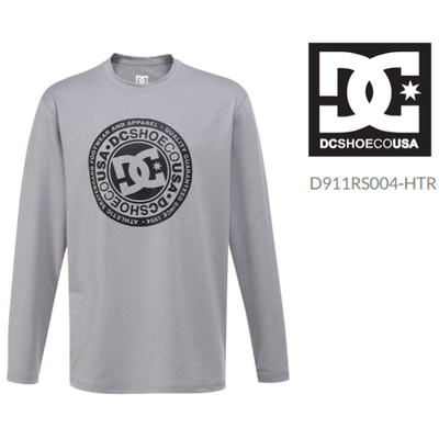 [DC슈즈] D911RS004-HTR 남성 루즈핏 래쉬가드 CIRCLE STAR LOOSE FIT RASHGUARD