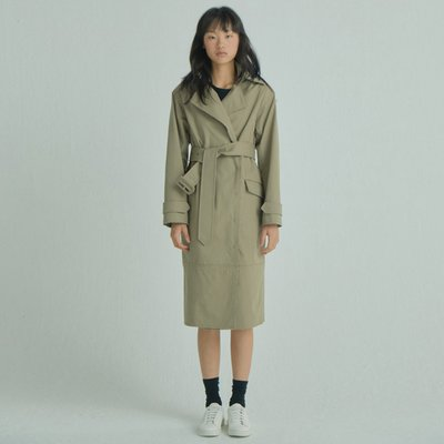 Rawcut Trench Coat_BE