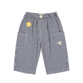 Willow gingham check out pocket pants