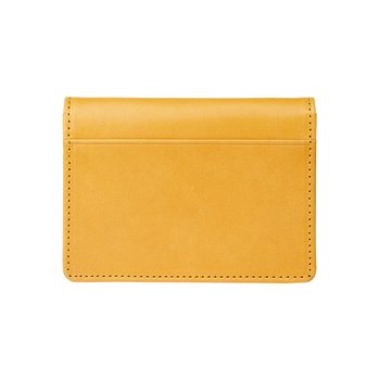 로우로우 FOLDING WALLET 303 LEATHER MUSTARD