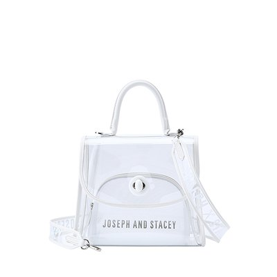 [조셉앤스테이시] Joseph A Clear Bag Off White