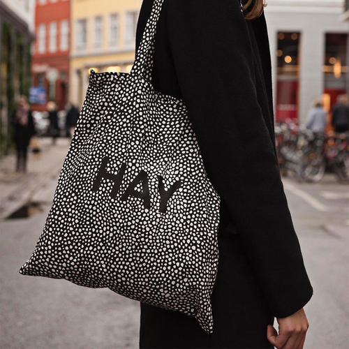 [이노메싸]Hay Cotton Bag (700111) Black Dot HAY 에코백