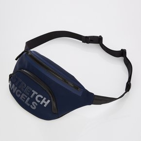 *season off*[S.P.U] Round pocket fanny bag (Navy)