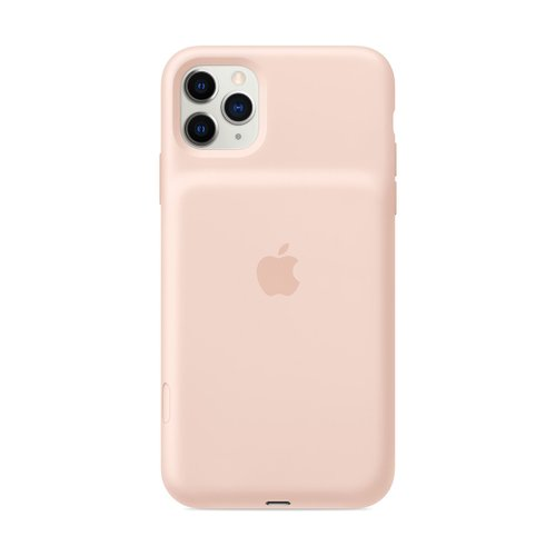 iPhone 11 Pro Max Smart Battery Case - 핑크 샌드(MWVR2KH/A)