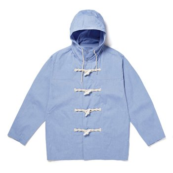 PIN OX DUFFLE COAT BLUE