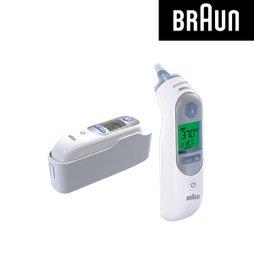 브라운 귀체온계 IRT-6520 + 필터21개 포함 /귀체온계/발열감지기능