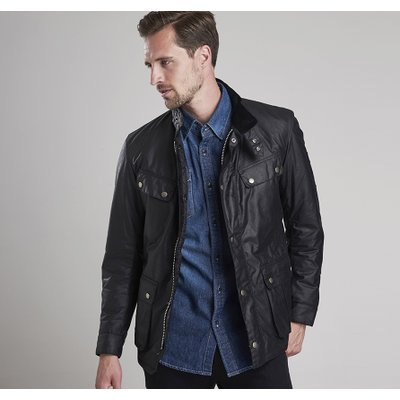 Barbour International 바버 인터내셔널 듀크 왁스 자켓 블랙 (International Duke Wax Jacket) MWX0337BK91