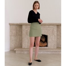 [20%할인가][엽페]TWILL MINI SKIRT_KHAKI