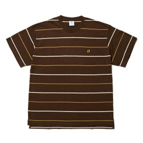 MRGTM x HANG TEN BORDER TEE - BROWN