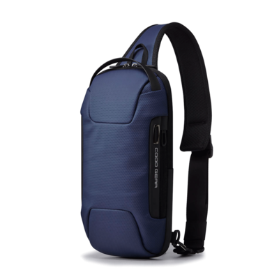 COOD GEAR XIX 004 Sling Bag Navy 쿠드기어 슬링백