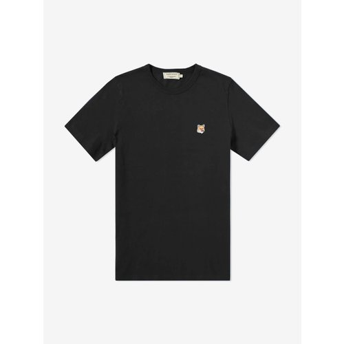 [PRE-ORDER] 20SS TEE-SHIRT FOX PATCH BLACK MEN AM00103KJ0008