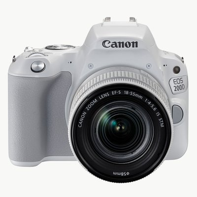 EOS 200D 18-55 IS STM KIT WHITE (렌즈 포함)