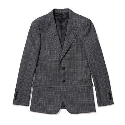 basic glen check suit _C9FBW18754GYX_C9FCW18754GYX