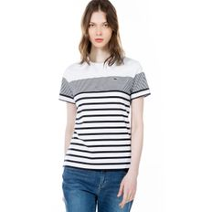 18SS SINGLE JERSEY STRIPE 반팔 티셔츠 TF028E-18B 001