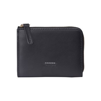 로우로우 ZIP WALLET 304 LEATHER BLACK
