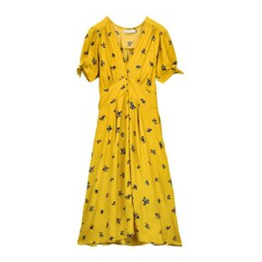 BILLIE MIDI DRESS_YELLOW