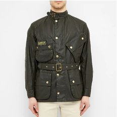 바버 인터내셔널 A-7 왁스자켓 세이지 (Barbour International Original Waxed Jacket) MWX0004SG91