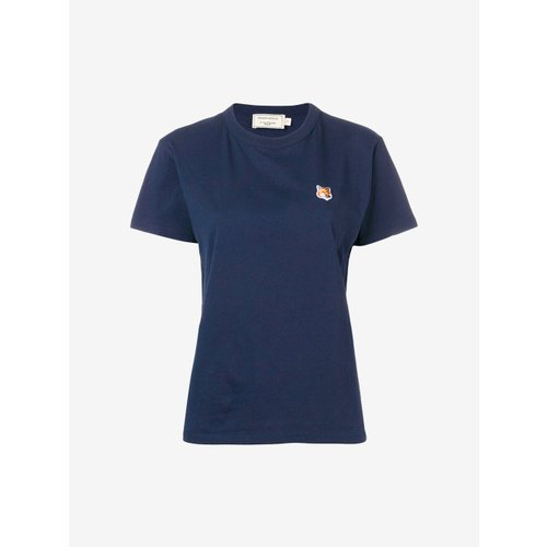 [PRE-ORDER] 19FW TEE-SHIRT FOX HEAD PATCH NAVY WOMEN AW00103KJ0005