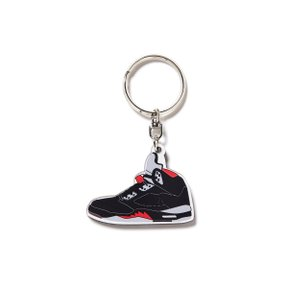 세컨랩 AJ5 KEY RING BLACK