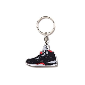 AJ5 KEY RING BLACK
