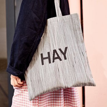 헤이 HAY Cotton Bag Stripe