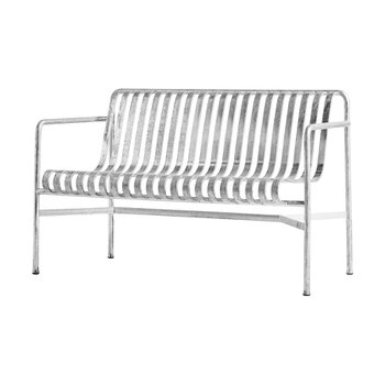 [주문 후 3개월 소요] Palissade Dining Bench Hot Galvanzied
