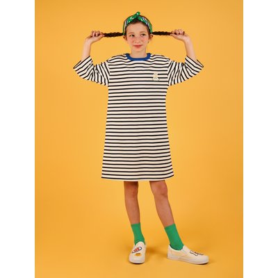 Daisy point stripe dress