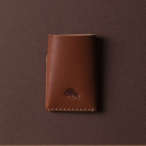 [에스라아서]No.2 Wallet - Cognac