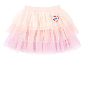 Bp heart wappen tiered tulle skirt (BP0238411)