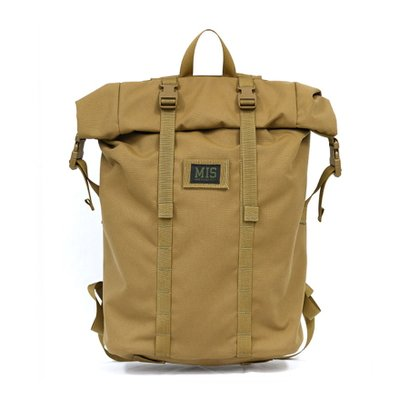 [MIS]Roll Up Backpack - Coyote Brown