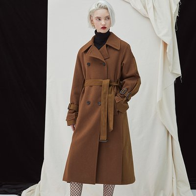 [35%할인적용가]Gemini Coat - Brown