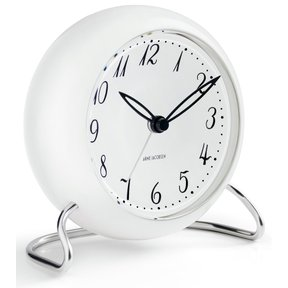 아르네야콥센 Table Clock LK White (43670)