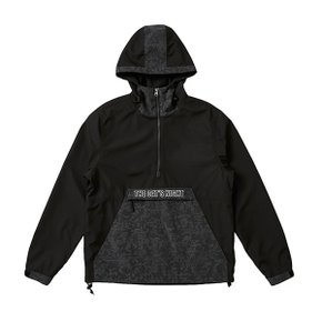 CAMO PATTERN POCKET ANORAK BLACK VG3JP906