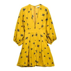 MORGOT DRESS_YELLOW
