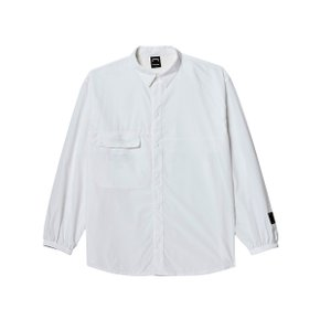 [골스튜디오] SSFC WINDBREAKER SHIRT - WHITE