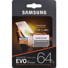 삼성Micro SD EVO 64GB(MP64GA/KR)