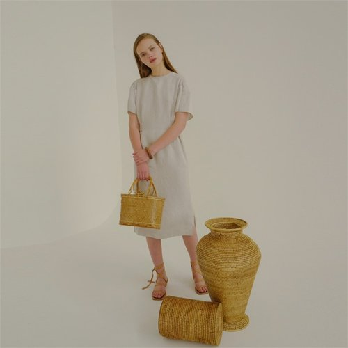 [로지에] 18ss very linen dress beige (1895751)