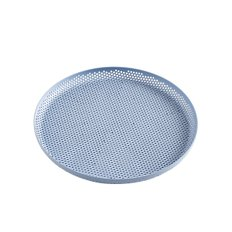 PERFORATED TRAY M LIGHT BLUE