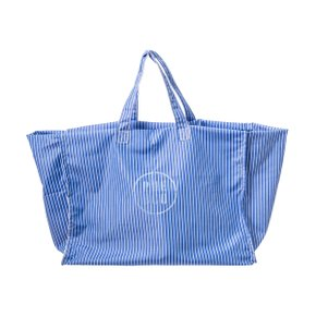 SHIRT FABRIC BAG BLUE