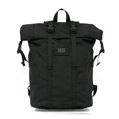 [MIS]Roll Up Backpack - Black