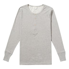 206 HENLEY LONG SLEEVE GREY