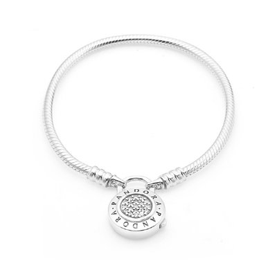PANDORA 판도라 597092CZ Moments Smooth Silver Bracelet 팔찌