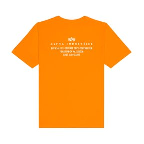 REFLECTIVE CONTRACT TEE EMERGENCY ORANGE