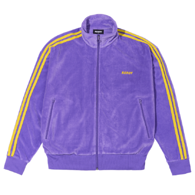 [신세계 단독 색상] Velour Track Top PURPLE