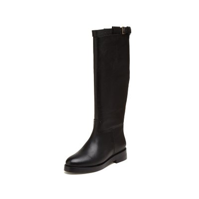 [파주점] Buckle strap long boots(black) DG3BW18507BLK